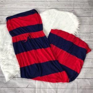 Old Navy Color Block Maxi Dress
